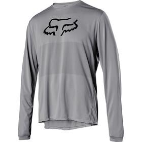 Fox Ranger Foxhead LS Jersey Men steel grey